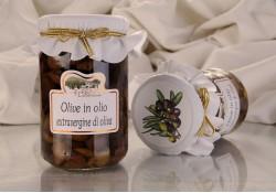 Olive Taggiasche snocciolate alla Ligure in olio Extravergine 270g
