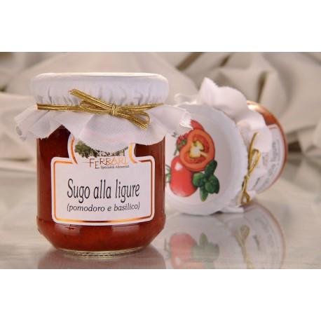 Sugo alla Ligure (pomodoro e basilico) 180g