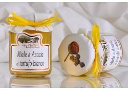 Miele di acacia al Tartufo Bianco 120g