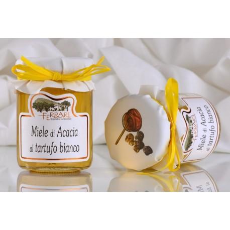 Miele di acacia al Tartufo Bianco 120 g