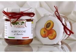 Albicocche al Barolo (snocciolate) 230g