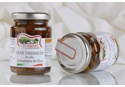 Olive Taggiasche snocciolate alla Ligure in olio Extravergine 90g