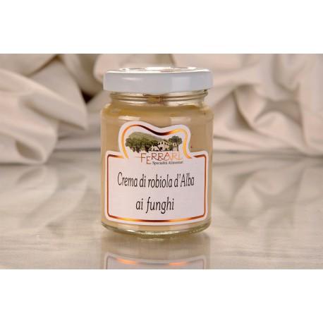 Crema di Robiola d'Alba con funghi 90g