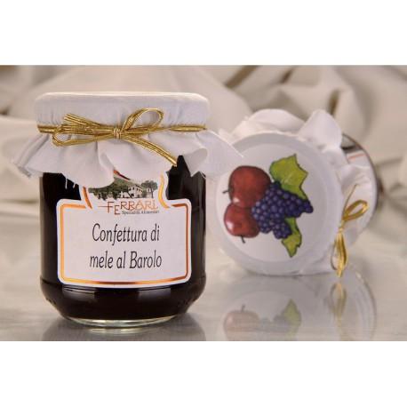 Apple jam with Barolo DOCG wine 210g