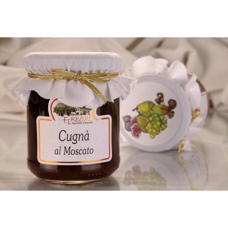 Cugnà with Moscato d'Asti DOCG wine 210g