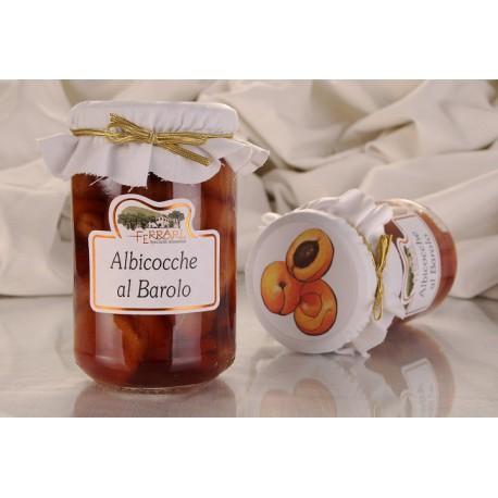 Albicocche al Barolo (snocciolate) 330g