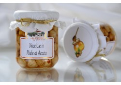 Miele di acacia e Nocciole Piemonte 210g